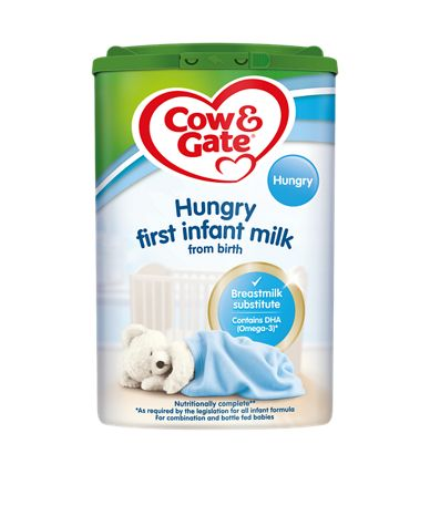 Cow & Gate Hungry First Infant  milk (Powder)