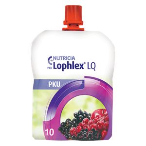PKU Lophlex LQ10 Berry 62.5ml Pouch