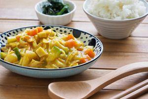 Bananen-Hähnchen-Curry
