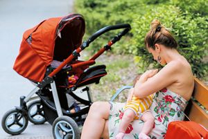 Outdoor breastfeeding