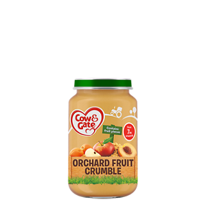 Orchard fruit crumble