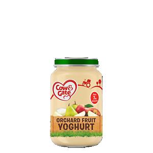Orchard fruit yoghurt