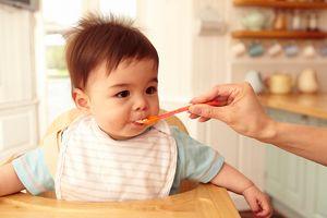 Spoon Feeding Toddler