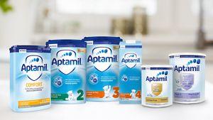 Aptamil Packshots Range