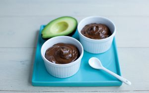 Avocado Chocolate Pots 1