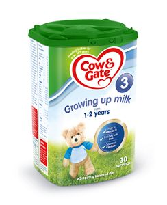 Cow & Gate Growing Up milk (1-2 years) (Powder)