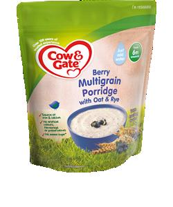 Berry Multigrain Porridge with Oat and Rye