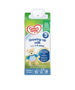 Cow & Gate Growing Up milk (1-2 years) (Liquid)