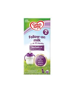 NEW Follow-on Milk Sachets