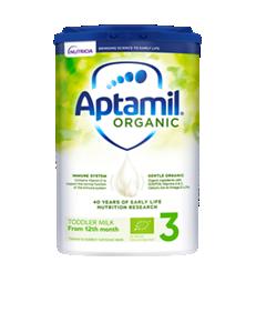 Aptamil  Organic Toddler Milk