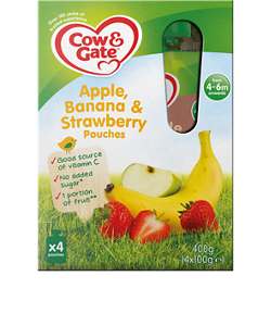 Apple, Banana and Strawberry multipack