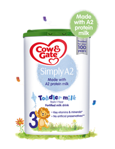 COMING SOON NEW Cow and Gate Simply A2 Toddler Milk