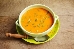 Turnip and Red Bell Pepper Soup