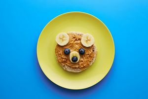 Food for kids - funny bear